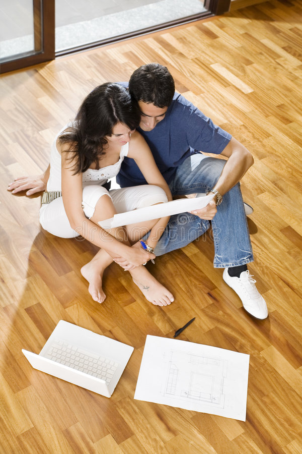 Download New house stock image. Image of front, floor, ethnicity - 5797929