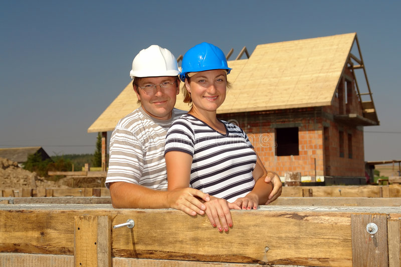 Download New house stock image. Image of house, construction, dreaming - 6406021