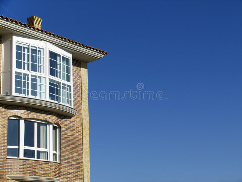 Download New house stock photo. Image of window, idyllic, residential - 7538592