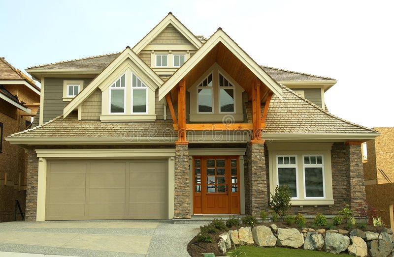 New House Home For Sale royalty free stock photo