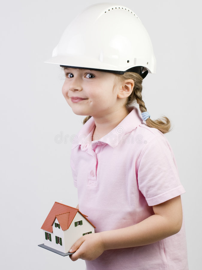 New House Model Royalty Free Stock Photography