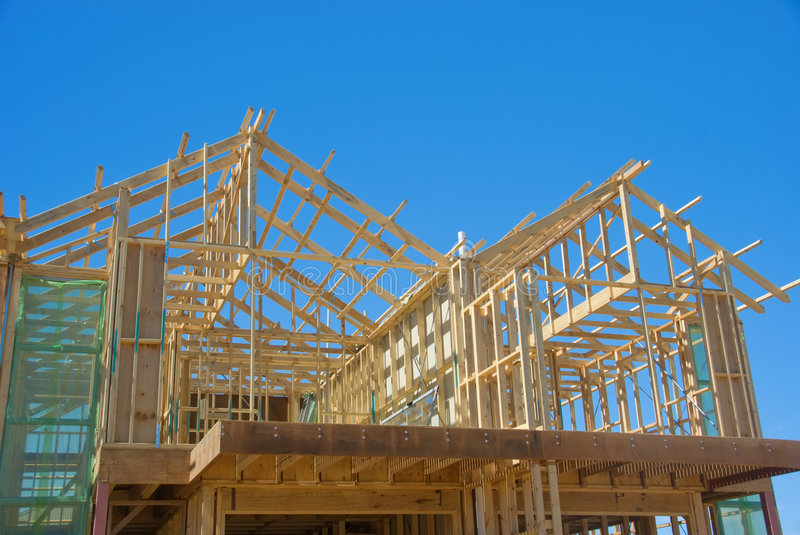 Download New House Under Construction Stock Photo - Image: 4672836