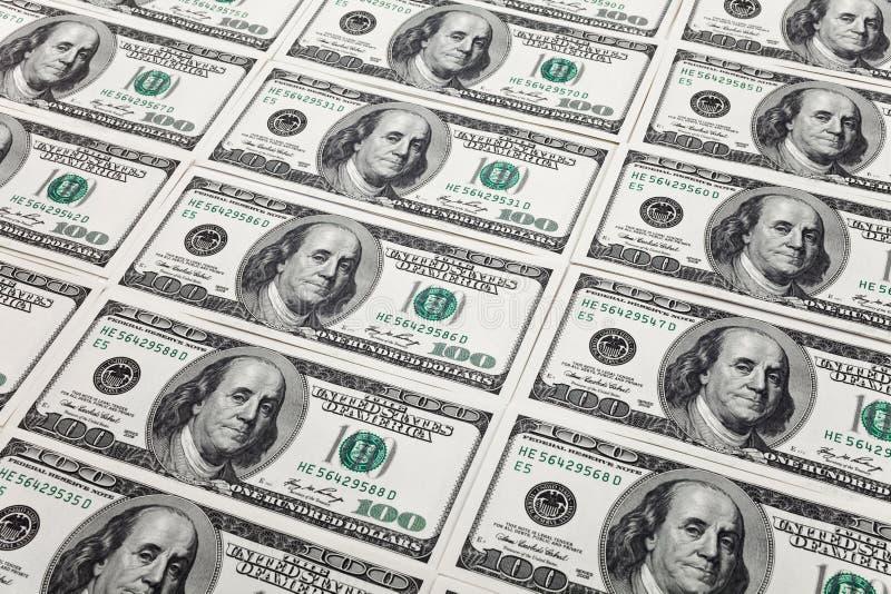 New Hundred Dollar Bills Stock Image