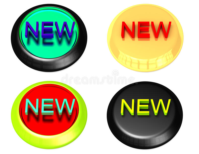 Download New Icons stock illustration. Illustration of design - 26569214