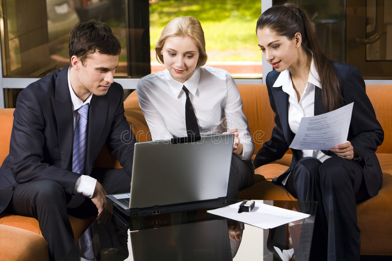 Download New idea stock photo. Image of business, discussion, manager - 2539534
