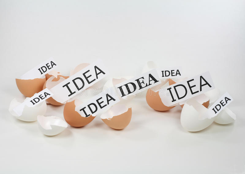 New Ideas Hatching Royalty Free Stock Photo