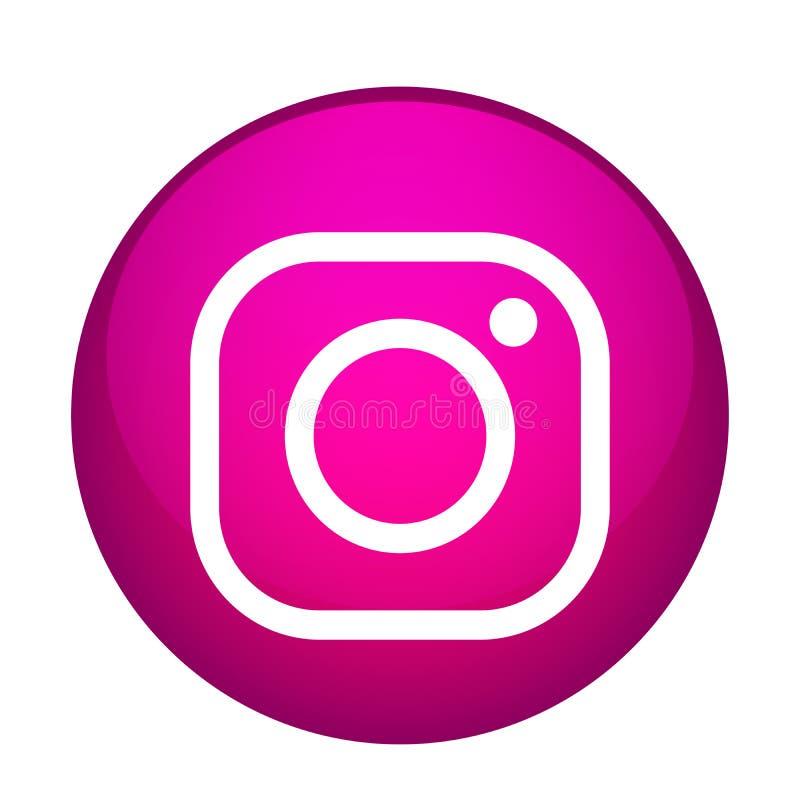 Vector Illustration Instagram: Instagram Logo Stock Illustrations