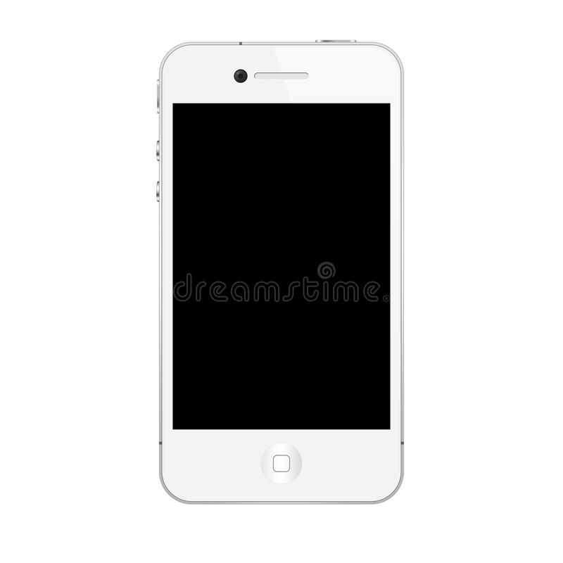 The new iphone 4s. Iphone 4s white on white background