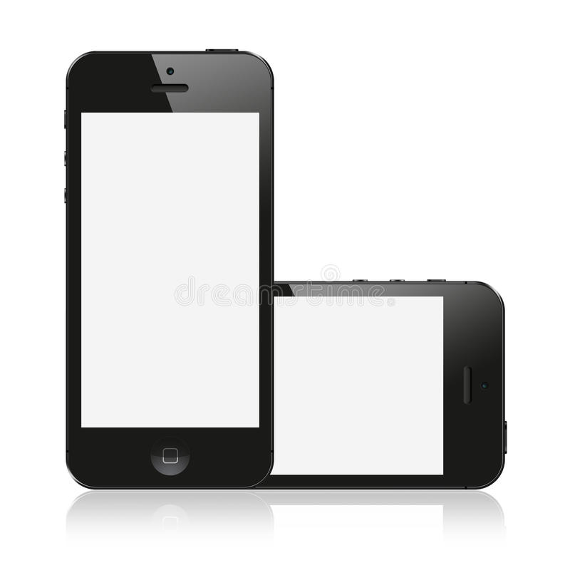 New IPhone 5 from Apple vector illustration