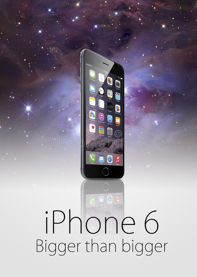 New iphone 6 plus. A new apple iphone 6 plus template