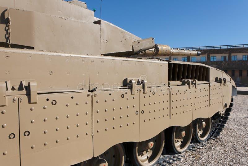 New Israeli Merkava IV tank royalty free stock images