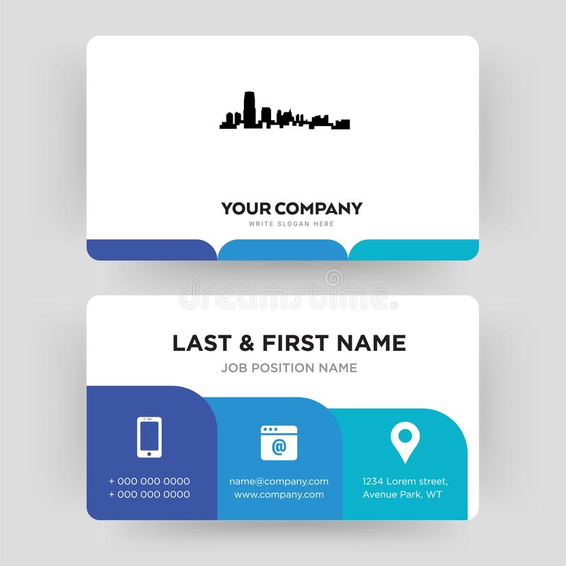 New jersey business card design template visiting for your company download new jersey business card design template visiting for your company stock illustration illustration reheart Choice Image