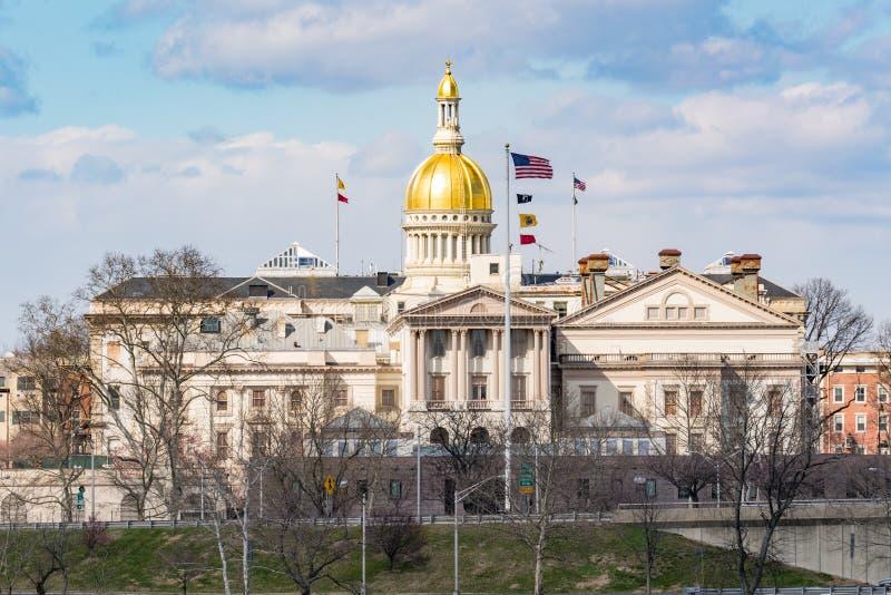 New Jersey Capitol Building in Trenton stock image