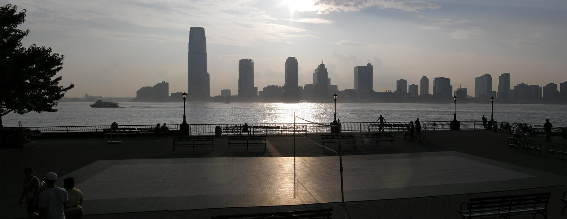 New Jersey Panorama Royalty Free Stock Photos