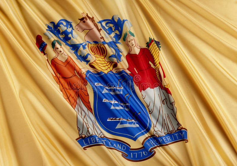 New Jersey State Flag Stock Photos