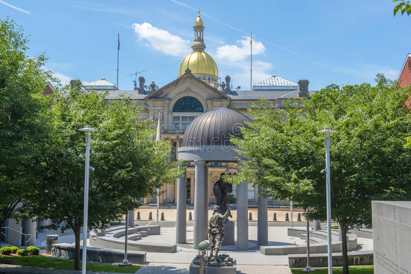 New Jersey State House, Trenton, NJ, USA. New Jersey State House, Trenton, New Jersey, USA. New Jersey State House is American Renaissance style built in 1792 stock photos