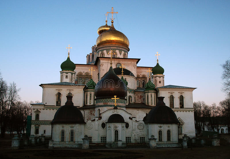 Download New Jerusalem Monastery stock image. Image of cupola - 11330609