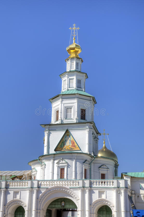 New Jerusalem Monastery. Istra, Russia stock images