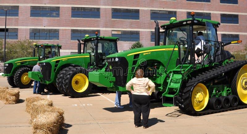 New John Deere Tractors Editorial Photography