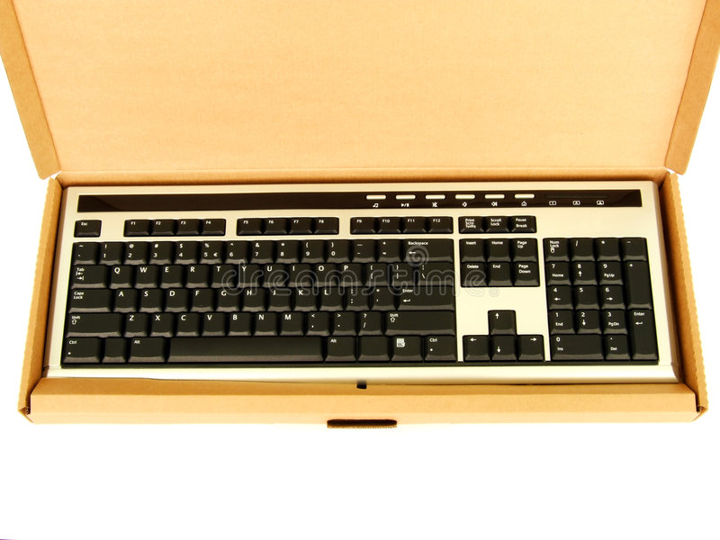 Download New Keyboard In A Box Stock Photos - Image: 3851563