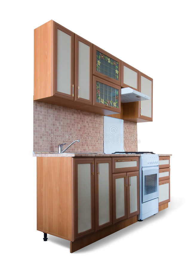 Download New kitchen furniture stock photo. Image of table, estate - 6442418