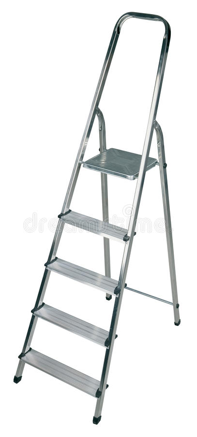 Download New ladder isolated stock image. Image of equipment, isolation - 12548075