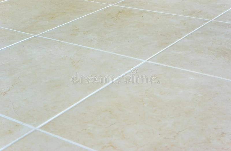 New laid tiles stock image