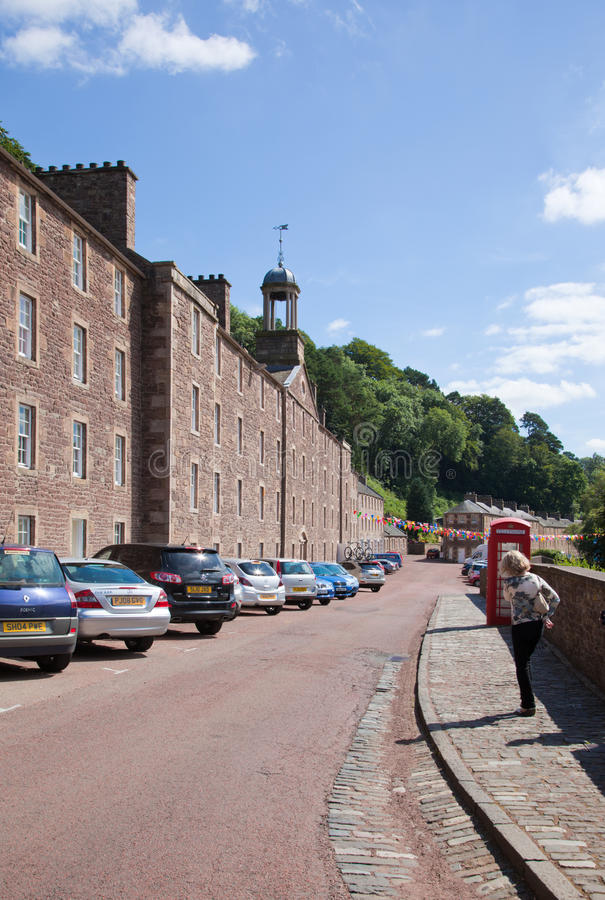 Free New Lanark, South Lanarkshire Stock Photography - 32407942