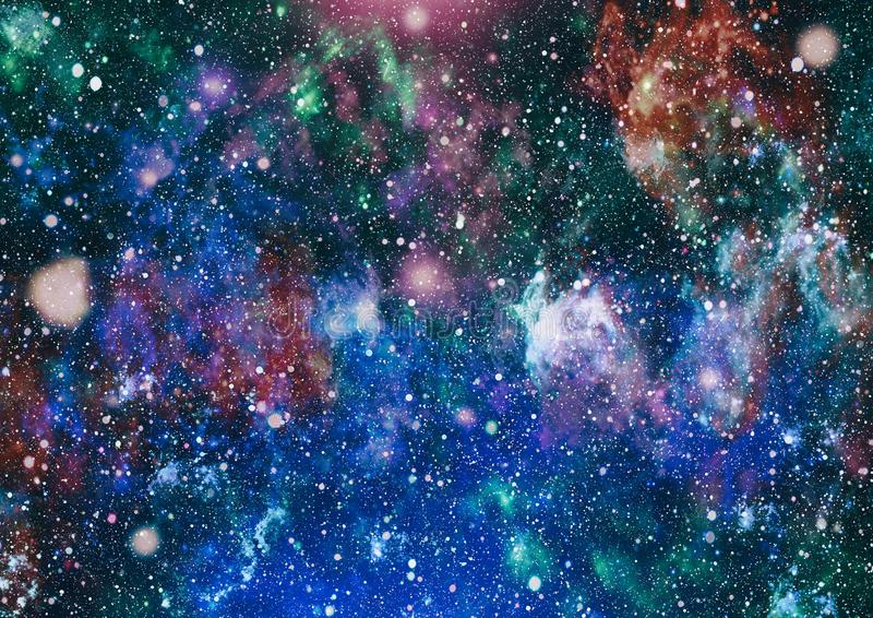 Awesome Nebula In Deep Space Galaxy And Nebula Abstract Space Background Stock Illustration Illustration Of Dark Galaxy 111374479
