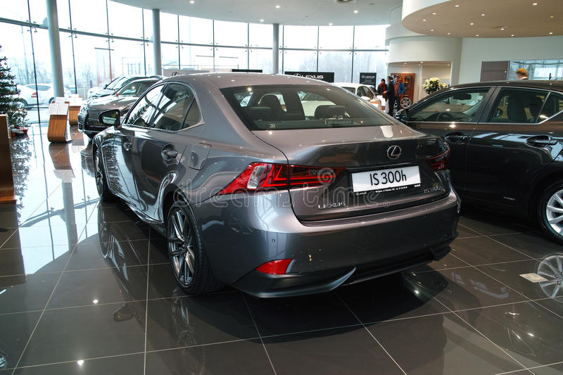 Download New Lexus IS 2013 editorial photo. Image of event, brand - 41419651