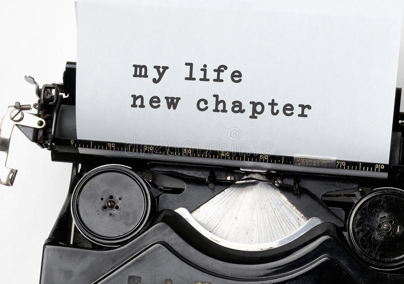 New life chapter. Concept for fresh start, new resolutions, dieting and healthy lifestyle royalty free stock photos