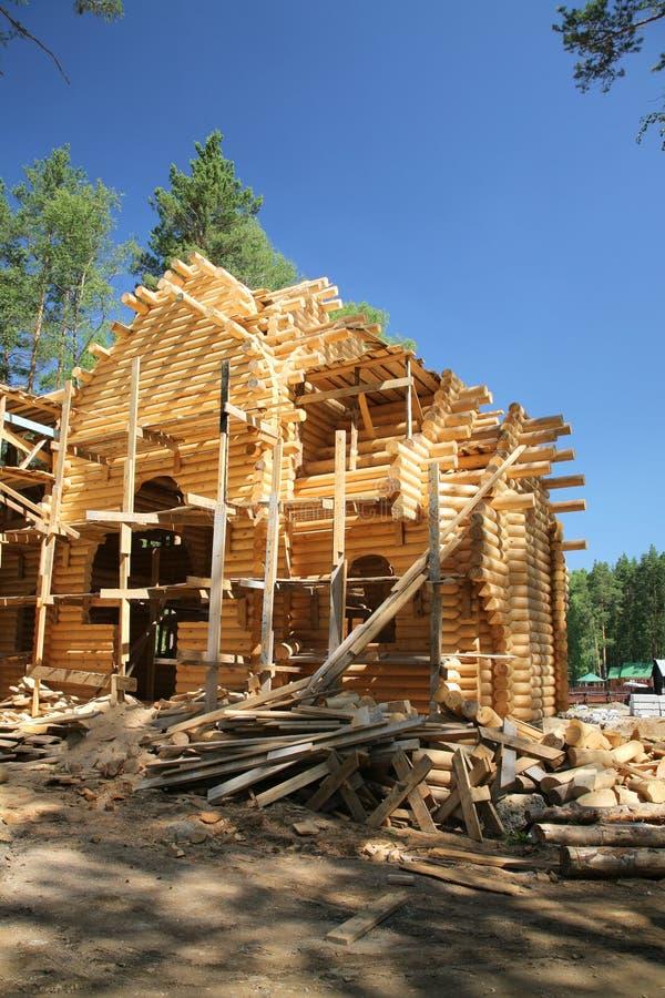 New log house royalty free stock image