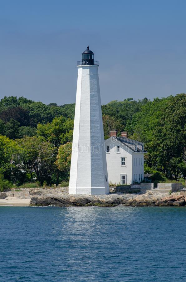 Free New London Harbor Lighthouse Stock Images - 125294354