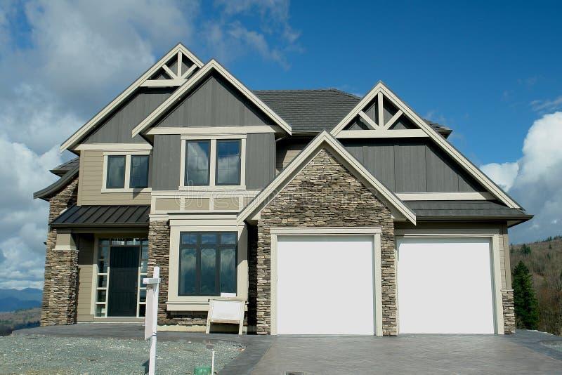 New Luxury Home House stock image