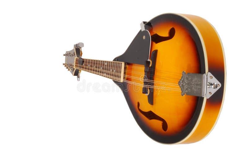 New Mandolin. With pick royalty free stock photos