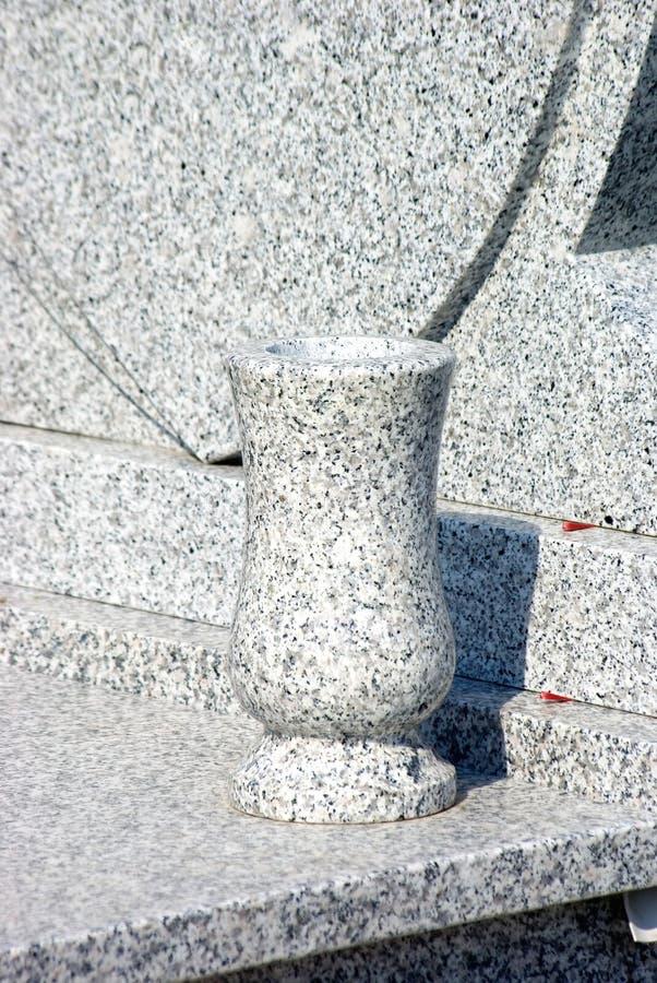 New marble vase royalty free stock photo