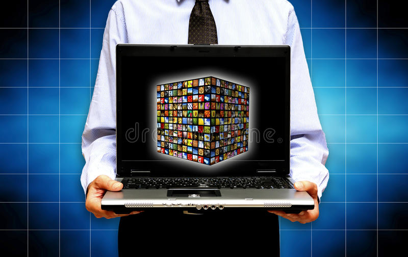 Download New media technology stock photo. Image of broadcasting - 15546744