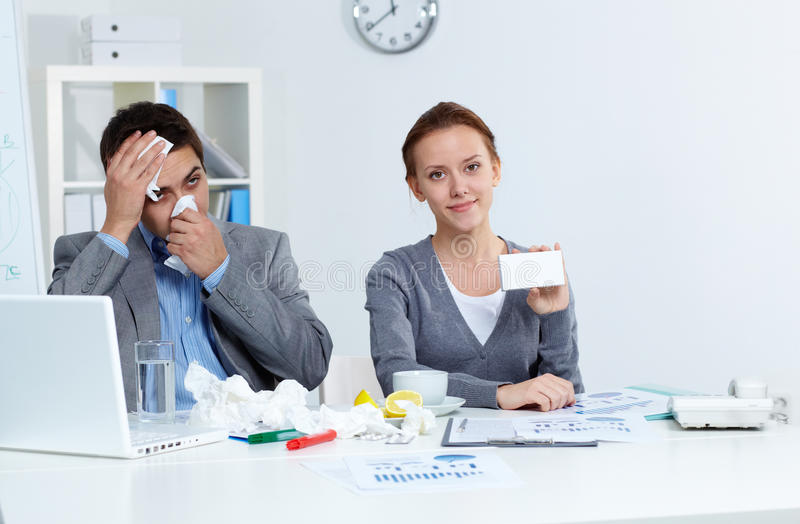 Download New medicine stock image. Image of epidemic, person, cold - 24739755