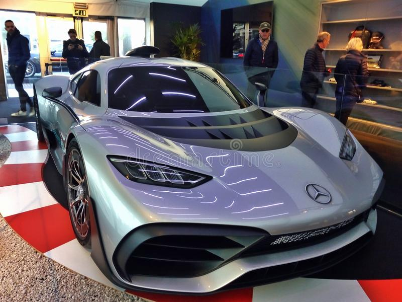 Mercedes Project one stock image