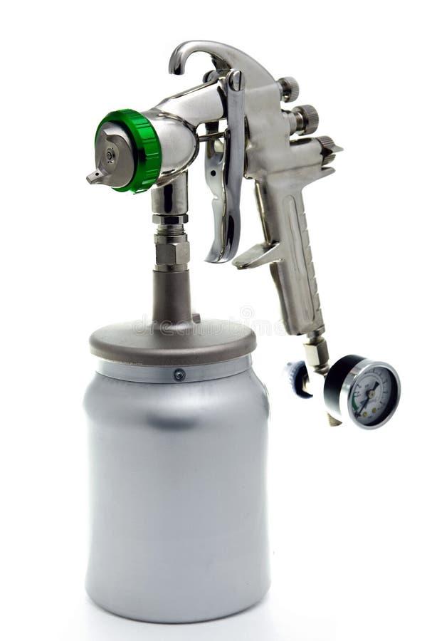 Download New Metal Brilliant Spray Gun Stock Photo - Image: 13518320