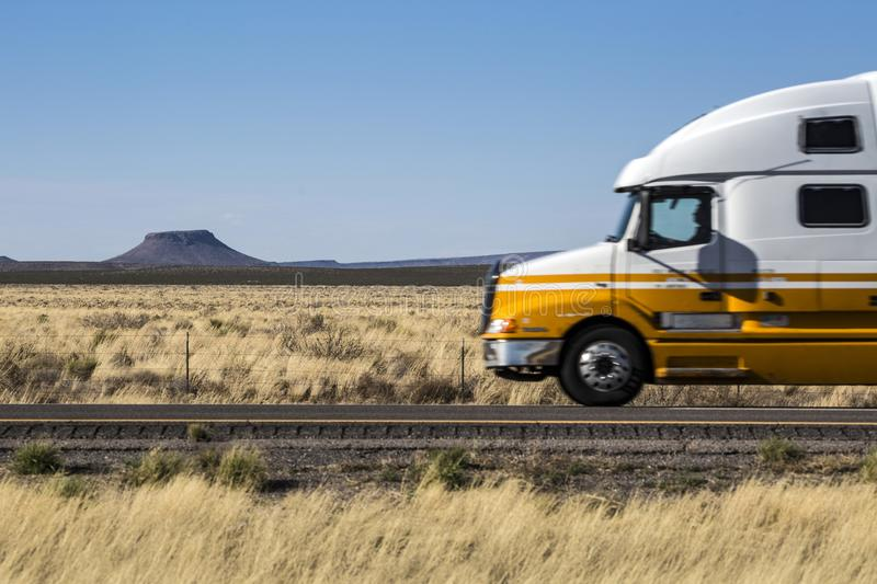 New Mexico - Interstate 10. New Mexico - the Interstate 10 from arizona to El Paso stock photography
