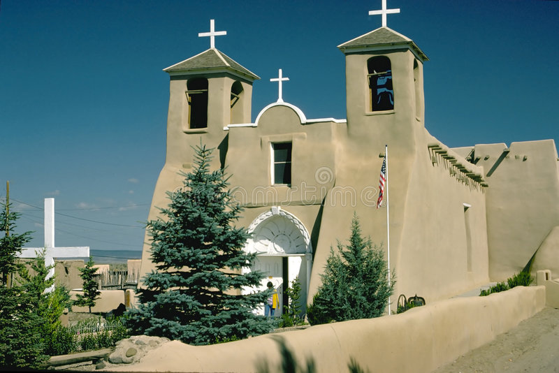 New Mexico Mission stock images