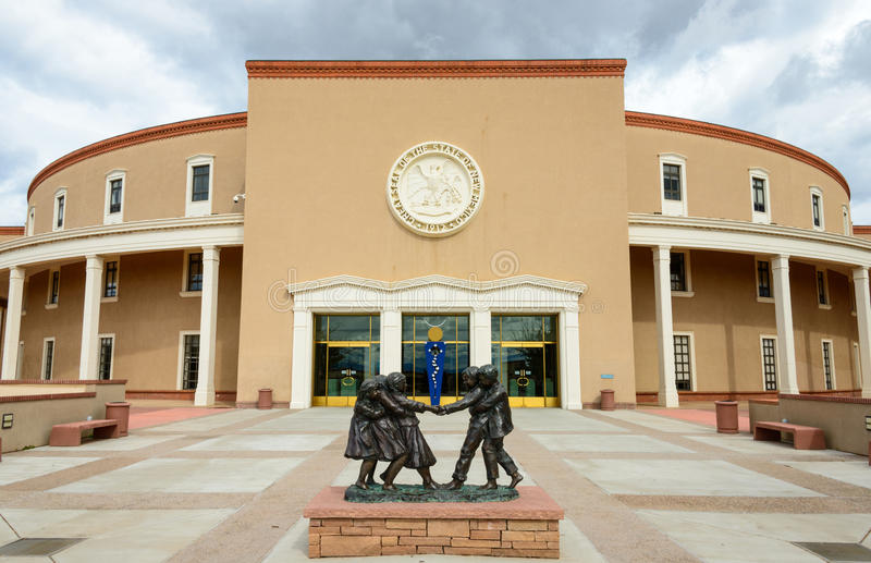 New Mexico State Capitol. Building stock photography