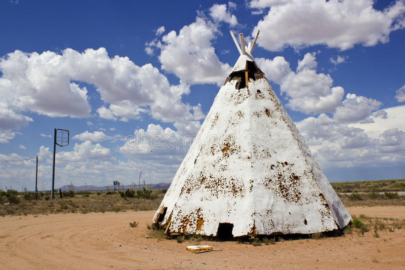 New Mexico Teepee stock images