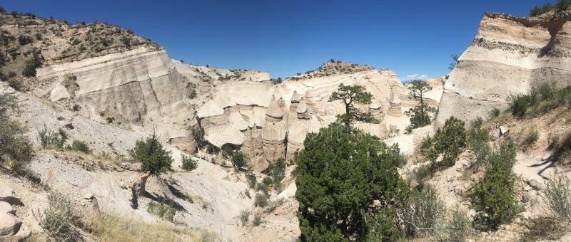 New Mexico. Tent rocks desert stock images