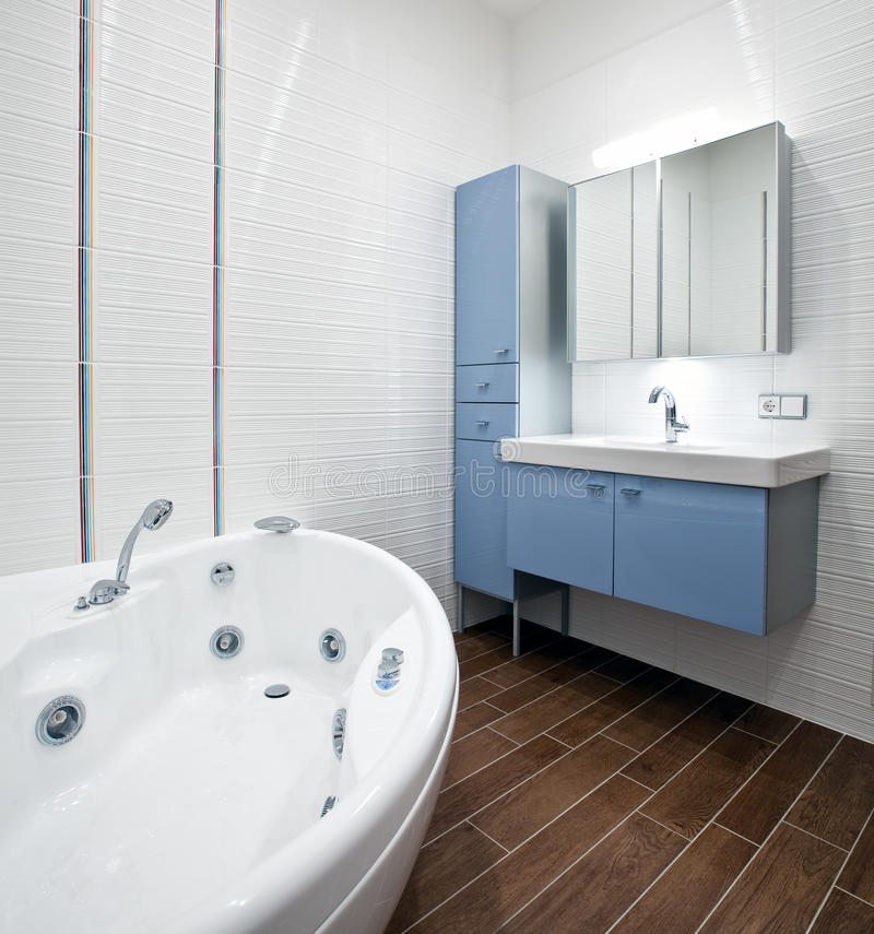 New modern bathroom stock images