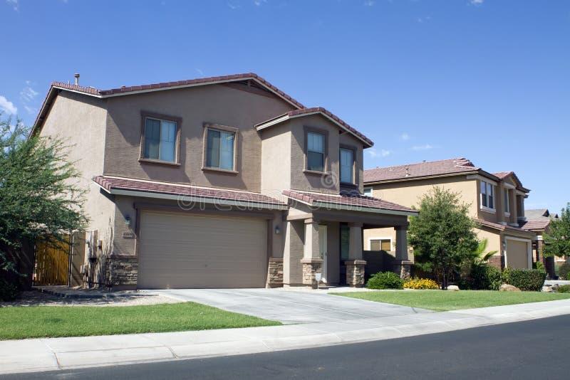New modern classic home neighborhood stock photo image for Classic house phoenix