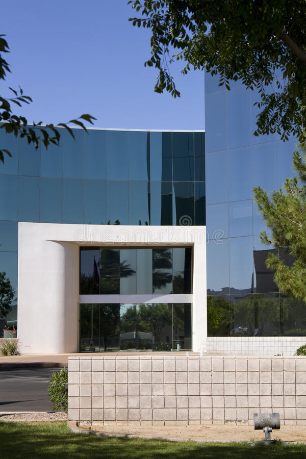 Download New Modern Corporate Office Building Entrance Stock Photo - Image: 19698132