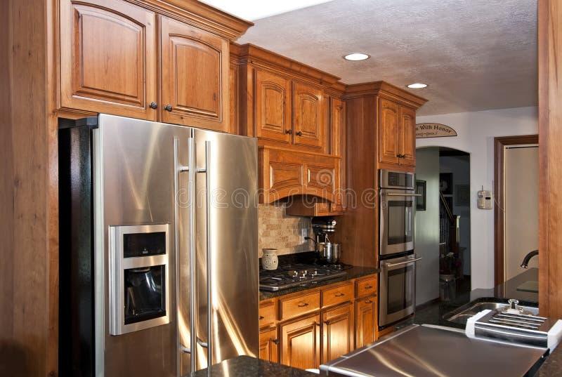 New Modern Kitchen Remodel stock photos