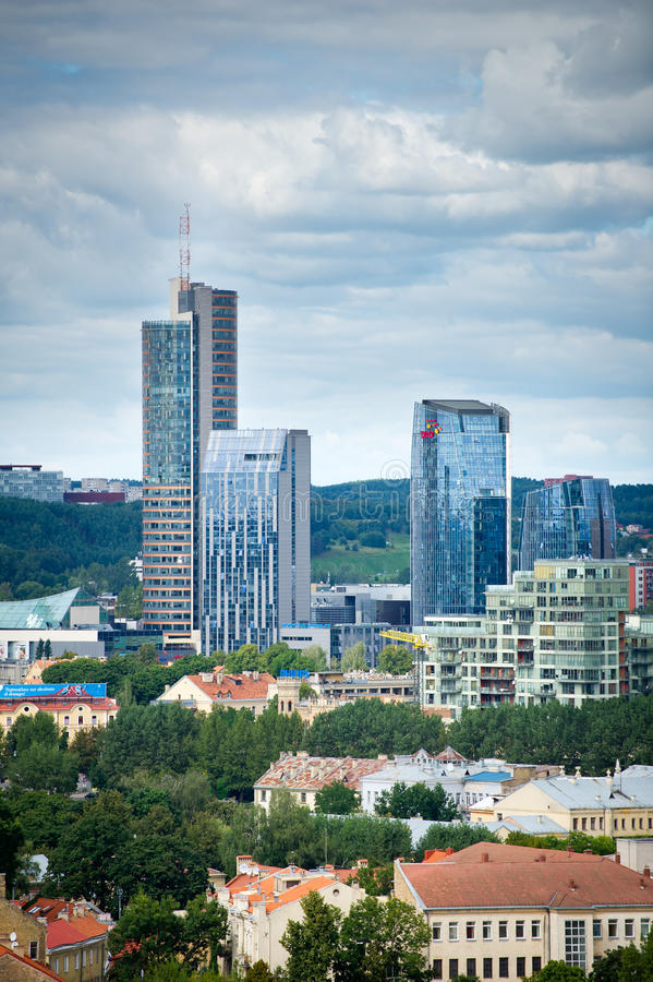 Download New Modern Skyscrapers In Vilnius Editorial Stock Image - Image: 37753439
